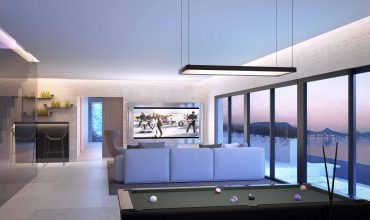Interior vivienda land house